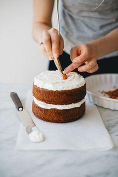 Spelt Vanilla and Blood Orange Cake with Whipped Cream