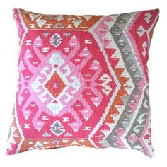 Check out this item at One Kings Lane! Suna 20x20 Pillow, Pink