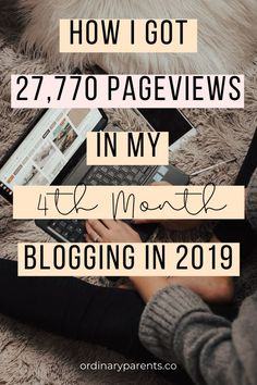 Are you a newbie blogger who is curious about the blogging world in 2019? Find out how I was about to get 27770 pageviews in my 4th month, & you can too!  This is an honest and detailed blog income report of a new blogger with no experience in October 2019. I share all the things I have learned, tips and the mistakes in my first few months blogging to make money blogging at home.  blogging for beginners | blog income report 2019 | new blog #incomereport #blogging #bloggingtips #newblogger