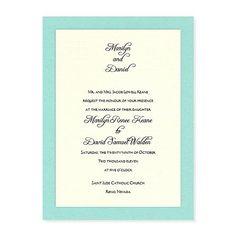 Abbey Invitations