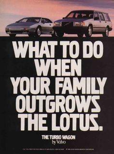1988 Volvo 740 ad.