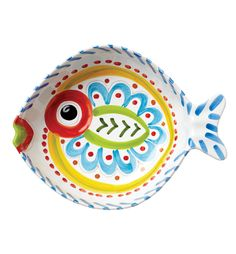 VIETRI Fish-Fish Large Fish-Shaped Serving Bowl (Love this!!)