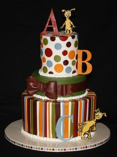 Dr. Suess Baby Shower cake