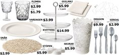 Everything you need for Diner en Blanc                                                                                                                                                     More