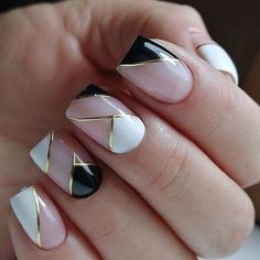 40 Classy Nail Art Design Ideas That Trending This Season - Nail art designs Classy Nail Art, Trendy Nail Art, Stylish Nails, Classy Gel Nails, Beautiful Nail Designs, Cute Nail Designs, Acrylic Nail Designs, Nail Art Photos, Purple Nail