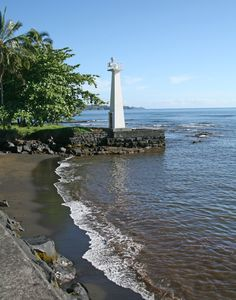 Minor light of Hawai'i - Coconut Point Lighthouse, Hawaii at Lighthousefriends.com