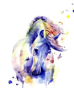 Horse by Elena Shved...See my ART EXPRESSIONS album 4 more of her wonderful horses