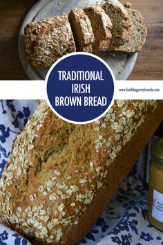 Canadian chef Janine Kennedy finds herself living on a dairy farm in Ireland experiencing St. Patrick's day first hand & baking this traditional Irish Brown Bread recipe. Brown Bread Recipe, Best Bread Recipe, Bread Recipes, Irish Brown Bread, Irish Bread, St Patricks Day Essen, St Patricks Day Food, Irish Desserts, Croissants