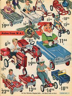 Western Auto Catalog - Christmas 1962 - Page 11 by Zaz Von Schwinn Retro Advertising, Retro Ads, Vintage Advertisements, Vintage Ads, Vintage Images, Vintage Stuff, Vintage Pictures, Vintage Items, My Childhood Memories