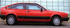 alfasud sprint .... went like shit off a shovel and rusted as quick..