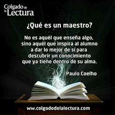 Qué es ser un maestro by Coelho