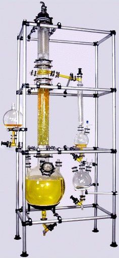 Fractional Distillation Assembly: