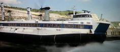 Sealink SRN4 Hovercraft ' The Princess Margaret'  very nice ride skimming across the channel