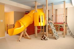 would be an AWESOME attic or basement idea