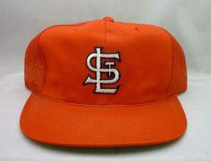 0f03a054cd6ba Vintage 1980 s Sports Specialties St. Louis Cardinals Snapback Mesh Trucker  Hat  SportsSpeciaties  StLouisCardinals