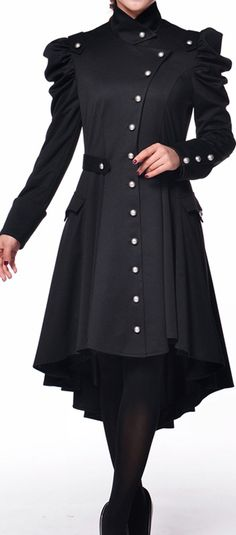 Victorian Trench Coat by Amber Middaugh 2015---This coat won and will be produced and sold by Chicstar.com!