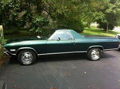 Make:  Chevrolet Model:  El Camino Year:  1968   Exterior Color: Green Interior Color: Black Doors: Two Door Vehicle Condition: Very Good   Phone:  908-872-6682   For MOre Info Visit: http://UnitedCarExchange.com/a1/1968-Chevrolet-El%20Camino-166809952001