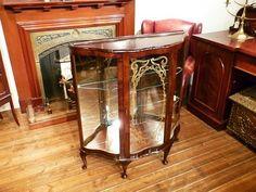 Cabinet 英国イギリスアンティーク家具ディスプレイキャビネット3927 インテリア 雑貨 Antique ¥2000yen 〆06月23日