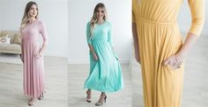These cinch waist dresses are so comfortable and perfect for Easter! Only $24.99! ad