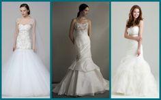 Vestido de Noiva Sereia: Modelos de Marchesa, Eve of Milady e Allure
