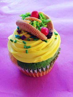 Cinco de mayo taco cupcake!
