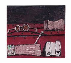 """Philip Guston (1913-1980), """"Untitled"""", Oil on canvas, 36"""" x 36"""", 1979"""