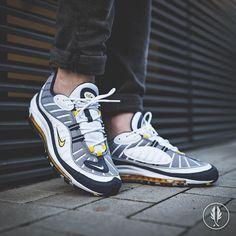 factory price 1f66c 48612 Nike Air Max 98 Tour Yellow