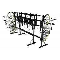 DoubleUp - Double Sided Free-Standing Vertical Bike Rack