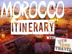 Hey! Planning a Morocco itinerary? Visit the blog -http://piesandtravel.com/morocco-itinerar/ Get the latest updates on how and where to seek most of the adventures and how to make yournext trip, the best till now.