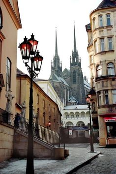 One of my favorite places. Cathedral Of St.Peter and Paul, Brno, Czech Republic.