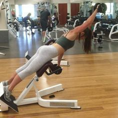 """The burn is real on this one, but it burns so good. 🔥🔥this was my leg day finisher. Targets posterior chain and helps with the Lower """"side… Back And Shoulder Workout, Gym Plans, Start A Diet, Leg Day, Back And Biceps, Workout For Beginners, Workout Videos, Workouts, Fitness Exercises"""