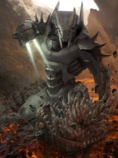 The demon killer by Geoffroy Thoorens