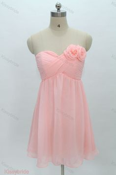 For Maggie and Amanda.I like the style of this for a bridesmaid dress Pink Bridesmaid Dresses Short, Short Dresses, Wedding Dresses, Bridesmaids, Cute Dresses, Beautiful Dresses, Girls Dresses, Pink Dresses, Grade 8 Grad Dresses