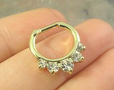 Menta verde Opalite tabique cristal anillo por MidnightsMojo