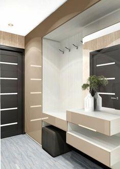 Set up corridor - ideas and suggestions - # ideen flur Entrance Decor, House Entrance, Industrial Home Design, Modern Interior Design, Flur Design, Hallway Designs, Vestibule, Small Room Bedroom, Suites