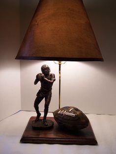 Vintage style football lamp
