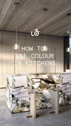 Kitchen Color Trends, Room Design Bedroom, Kitchen Shelves, Modern Kitchen Design, Interior Design, Architecture, October, Kitchen Racks, Nest Design