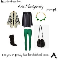 How to dress like: Aria Montgomery / Lucy Hale from Pretty Little Liars! Little Fashion, I Love Fashion, Passion For Fashion, Autumn Fashion, Pll Outfits, Casual Outfits, Fashion Outfits, Womens Fashion, Pretty Little Liars Outfits