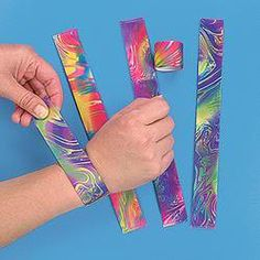 Slap Bracelets - fun until everyone decided they were dangerous...
