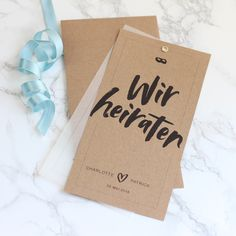 Kalligrafie-Set-Einladung - Alles zum Ausdrucken. Place Cards, Place Card Holders, Wedding, Instagram, Paper, Organisation, Fabric Letters, Invites Wedding, Thanks Card