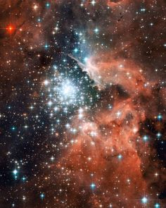 Star Cluster- Hubble Telescope Image