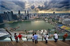 A view from the Marina Bay Sands Hotel, where next week's ICCA Congress will take place Sands Singapore, Singapore City, Oh The Places You'll Go, Cool Places To Visit, Best Places In Singapore, Singapore Grand Prix, Sands Hotel, Weekend Breaks, Singapore