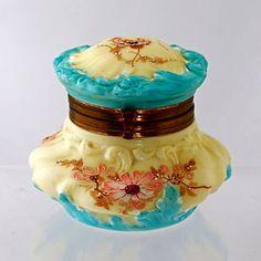 Antique Trinket Jar.