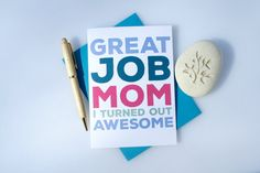 Hey, I found this really awesome Etsy listing at https://www.etsy.com/listing/225360251/funny-card-mothers-day-card-funny