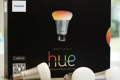 """I want this!!!! Phillips """"Hue"""" App Controlled LED Light Bulbs"""