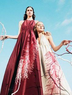 Valentino Spring 2015 Campaign   Maartje Verhoef, Vanessa Moody   Michal Pudelka