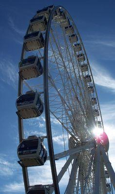 The awesome SkyWheel in Niagara Falls Ontario. THE most popular attraction in Niagara!