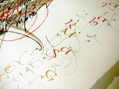 Betina Naab  (One of my all time favorite lettering artists.)