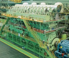 80000kW Ship Engine.