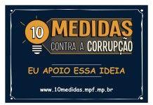 MPF lança site para colher assinaturas e forçar Congresso a aprovar lei anticorrupção